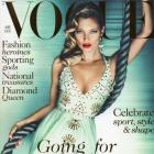 Kate Moss arrasa na capa da Vogue UK