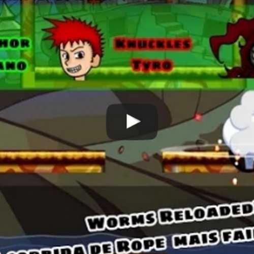 Novo vídeo! Worms reloaded. A corrida de rope mais fail de todas!