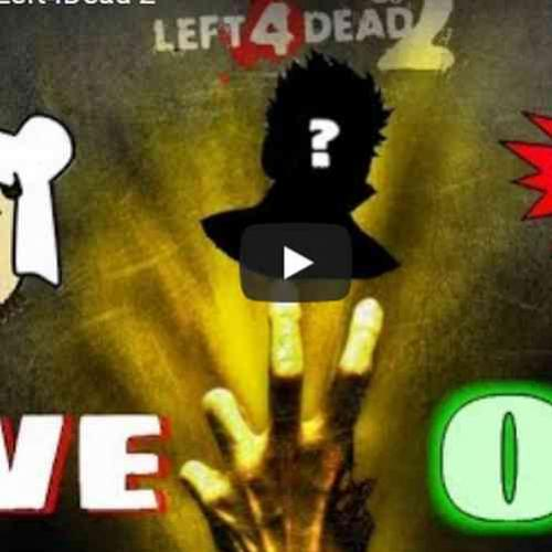 Live do sabadão foi de Left 4 Dead 2!