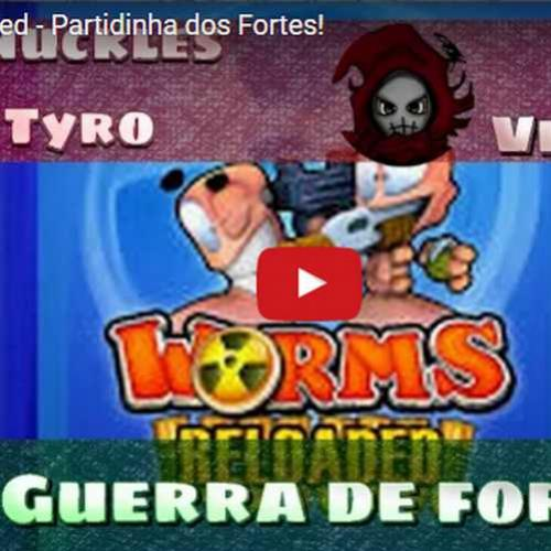 Novo vídeo - Guerra de fortes no Worms Reloaded!