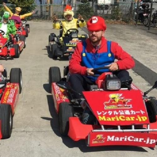 Mario Kart da vida real leva a aventura do game pras ruas do Japão
