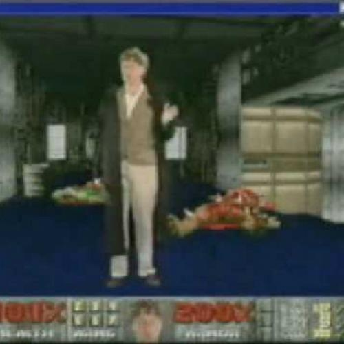 Bill Gates joga Doom para promover Windows 95