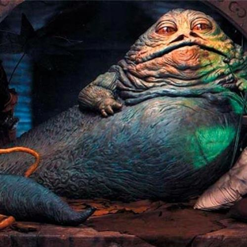 Descubra o segredo por trás do Jabba the Hutt no filme Star Wars