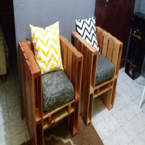 Decora com pallets