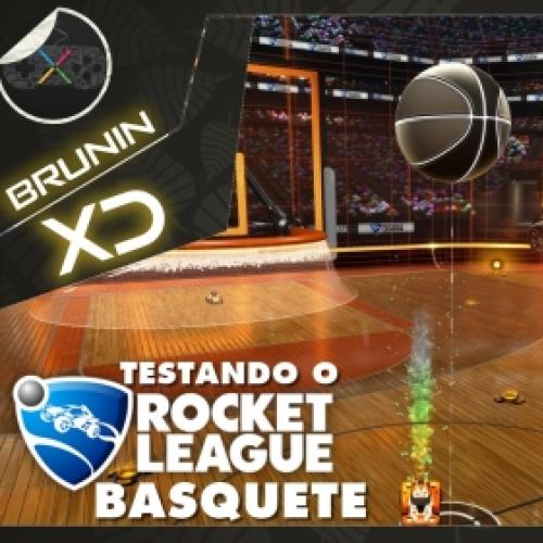 Rocket League – Testando o modo basquete