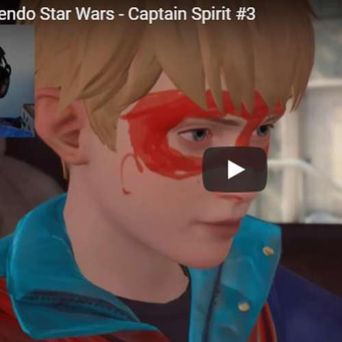 Captain Spirit - Parecendo Star Wars