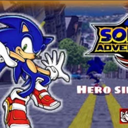 Live - Sonic Adventure 2 - Avançando no Hero Side do modo História!