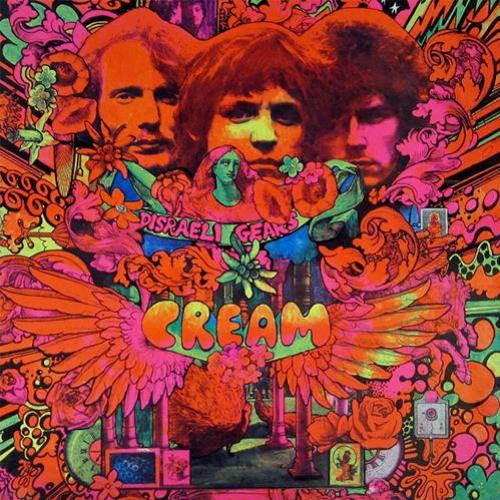 Riffs de guitarra do álbum mais aclamado da banda Cream