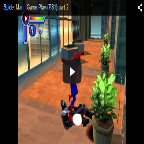 Spider Man | Game Play (PS1) part 2