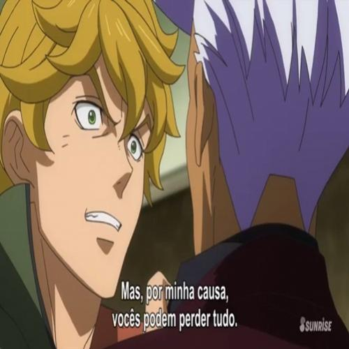 Analise Gundam Iron Blooded Orphans 47 Bode Expiatório