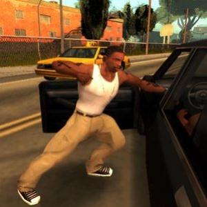 CJ cantando o Rap do GTA San Andreas