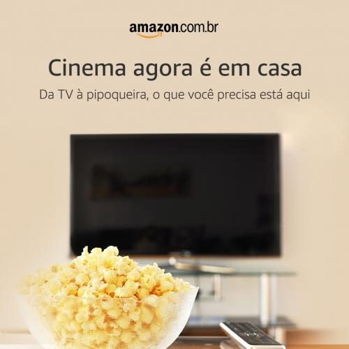Super Ofertas no Especial Cinema em Casa Amazon