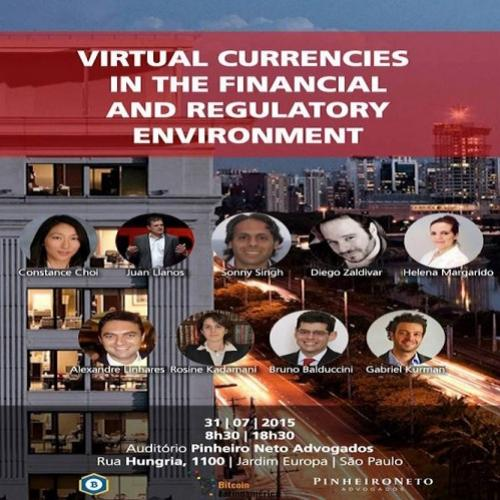 "Transmissão ao vivo – evento ""virtual currencies in the financial and"