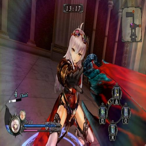 Primeira Hora Comentada: Nights of Azure PC version Full HD