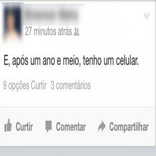 Coincidência no feed do facebook