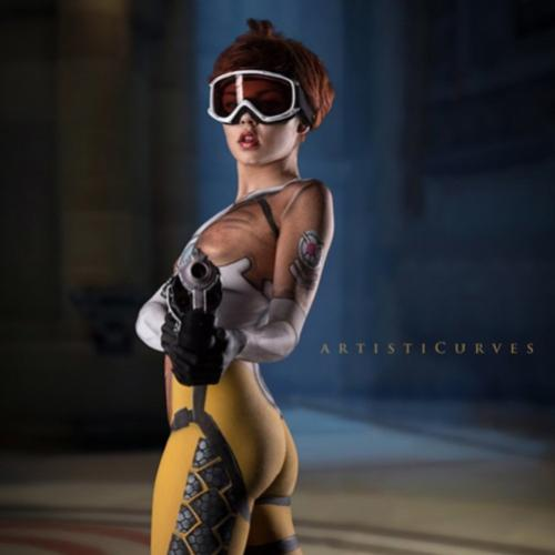 Body Paint de Tracer de Overwatch