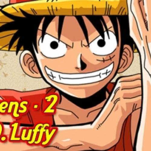 Personagens #2 - Monkey D, Luffy - One Piece