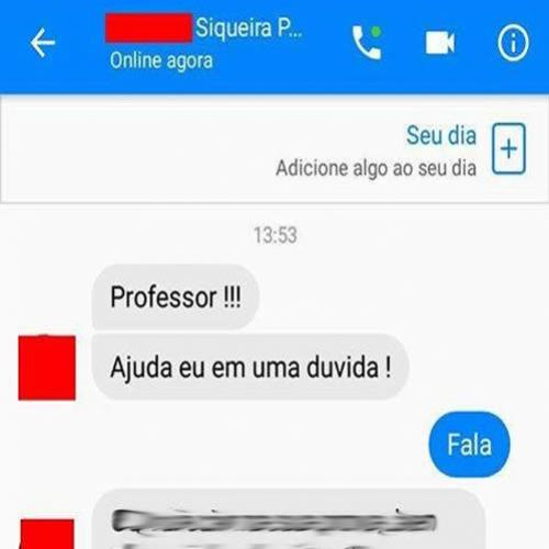 Professor sincero