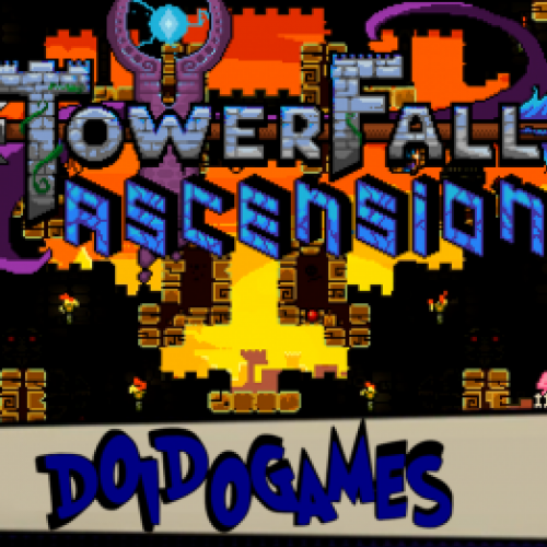 Towerfall Ascension - Melhores que Robin Hood! - Doidogames #59 (PC G