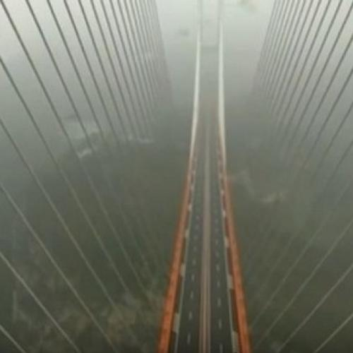 China inaugura ponte mais alta do mundo