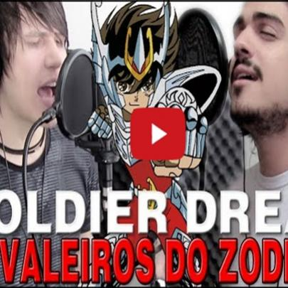Musicômico – cavaleiros do zodíaco – soldier dream