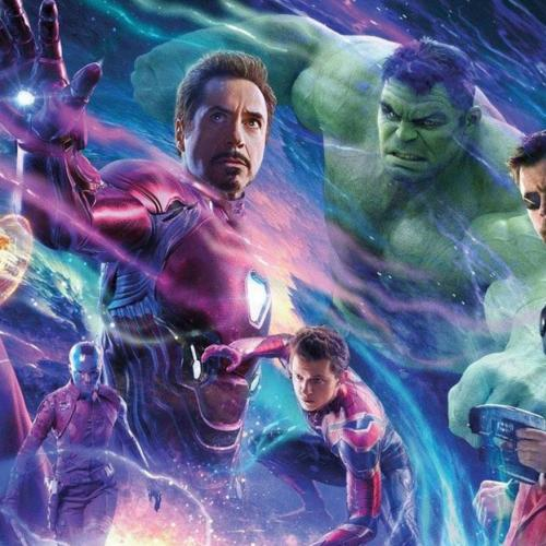 Vazou varias cenas do filme Vingadores Ultimato