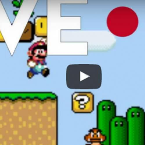 Novo vídeo! Live do Canal - Super Mario World