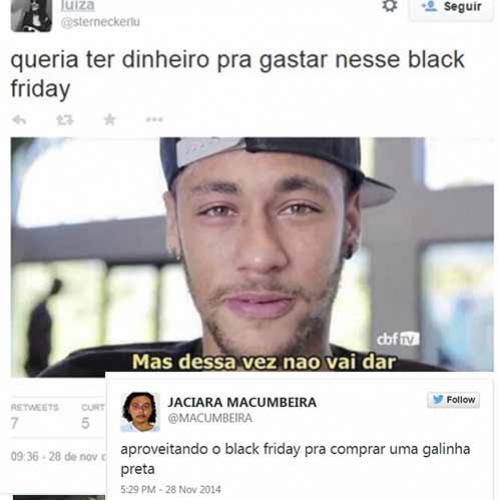 Zueira que só enconta na Black Friday