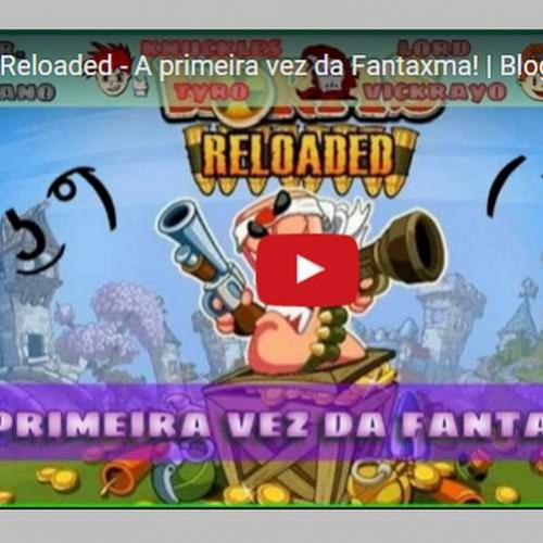 Novo vídeo: Primeira vez da FantaXma no Worms!
