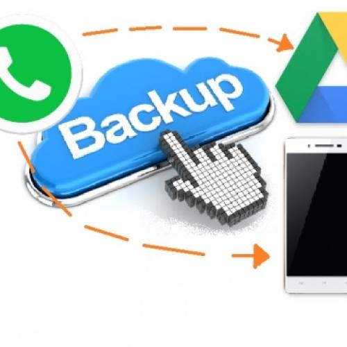 Como fazer backup completo do whatsapp