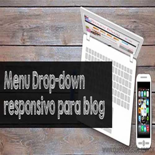 Menu responsivo para blog (Drop-down)