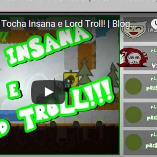 Novo vídeo - Lord Troll Insano tocha - BattleBlock Theater