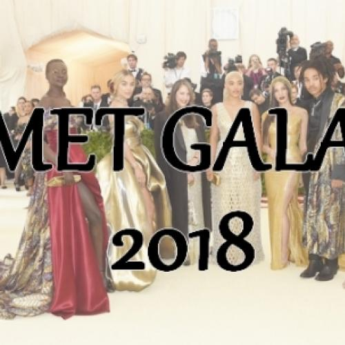 Comentando looks do Met Gala 2018!