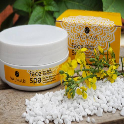 Testei o Mel para massagem Face Spa – Valmari