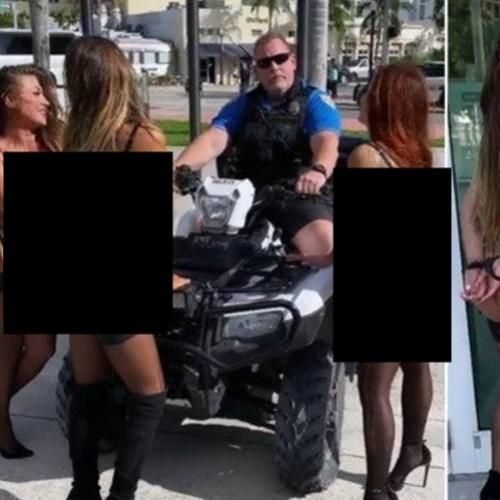 Policial de Miami Beach suspenso por incidente com modelos