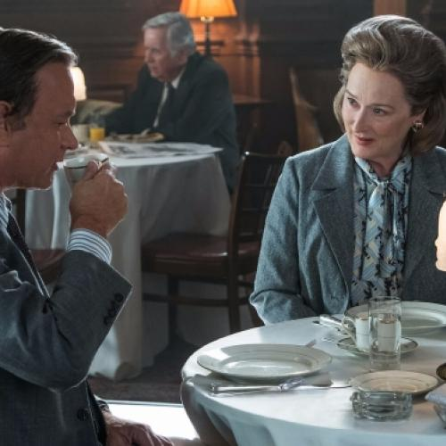 """The Post: A Guerra Secreta"" traz a censura em segundo plano."