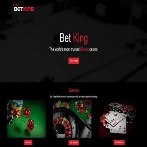 Bet king, cassino bitcoin financiado coletivamente, pagou mais de us$