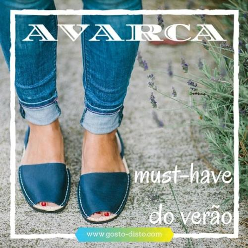 Avarca, a sandália must-have do verão
