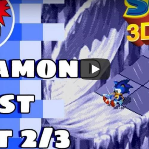 Diamond Dust atos 2 e 3 ! - Sonic 3D Blast!
