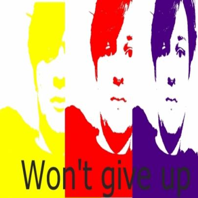 Meu cover Oficial para a musica I Won't give up