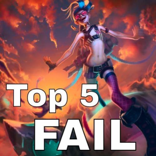 Top 5 Piores Jogadas – Fails no LoL