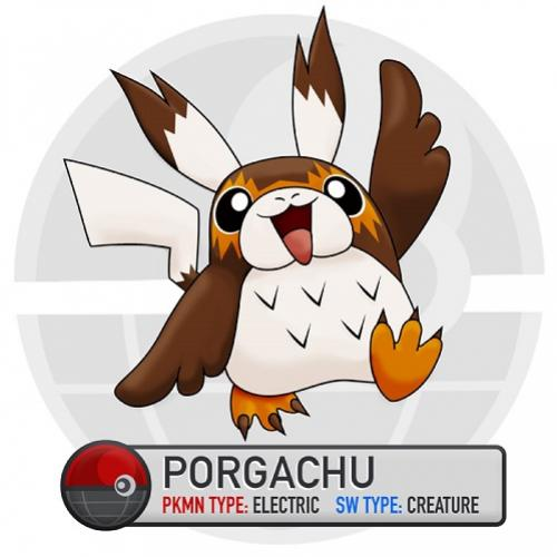 E se juntássemos os personagens de Pokémon com Star Wars?