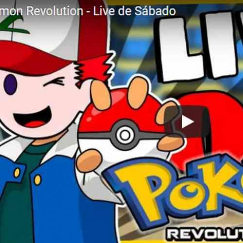 Pokemon Revolution - Live de Sábado