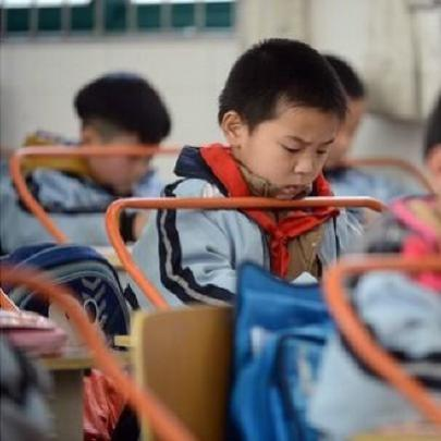Escola da China adota medida preventiva contra miopia