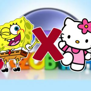 UFC TV Globinho? Bob Esponja VS Hello Kitty