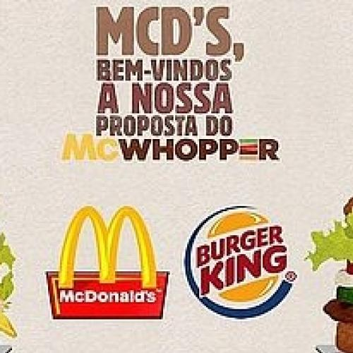 McWhopper: A união do Burger King com o McDonald's