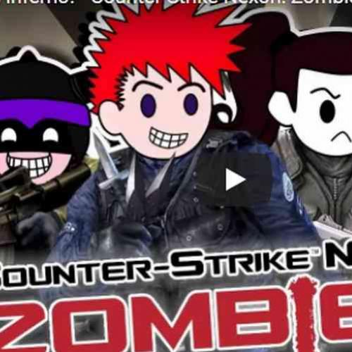 Que laser mais chato cara! Counter Strike Nexon: Zombies