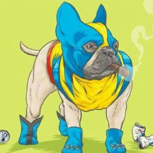 Cachorros do Universo Marvel por Josh Lynch