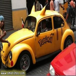 Carro do Pikachu
