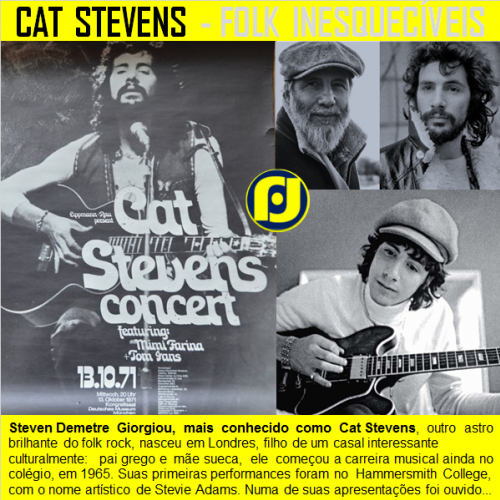 Cat Stevens - Folk Rock Inesquecíveis